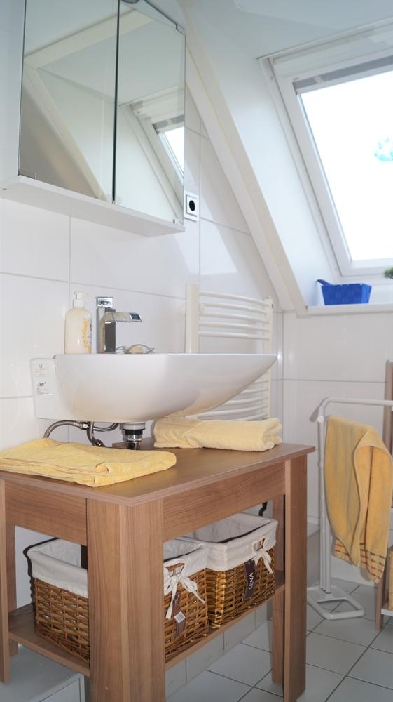 Badezimmer im Obergeschoss rechts