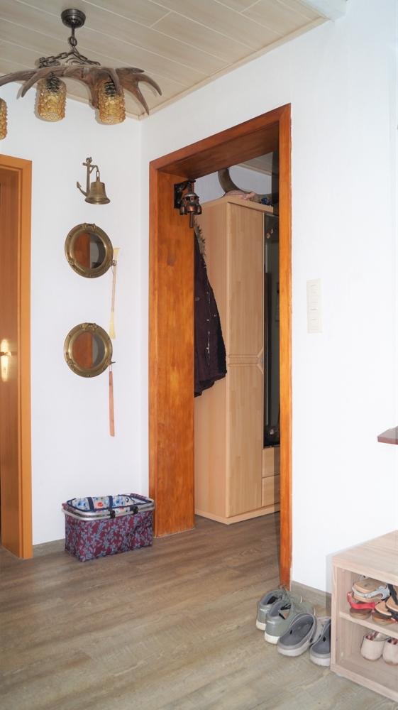 Eingangsbereich mit Gäste-WC
