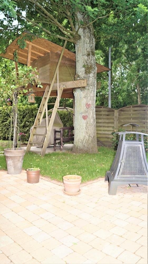 Baumhaus für die kleinen Bewohner