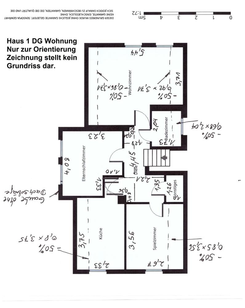 Mehrfamilienhaus: Dachgeschoss