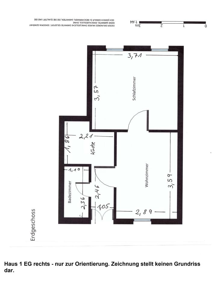 Mehrfamilienhaus: Erdgeschoss rechts