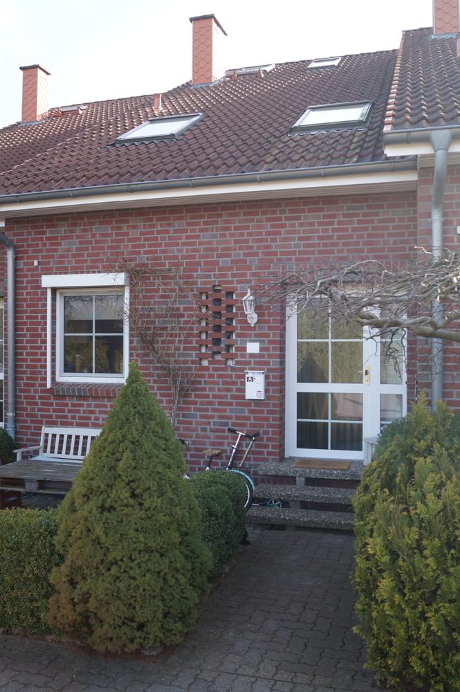 Haus mit eingangsbereich
