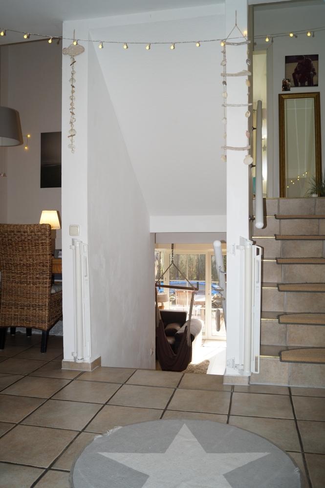 Eingangsportal im Erdgeschoss