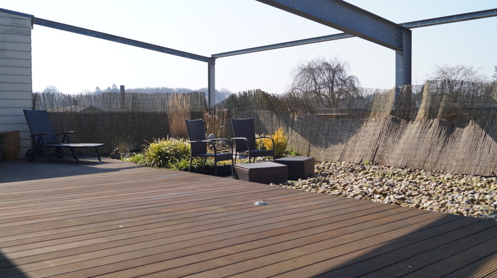 Dachterrasse für Sonnenliebhaber