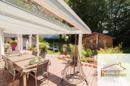 Terrasse mit Anbdinung zur Küche