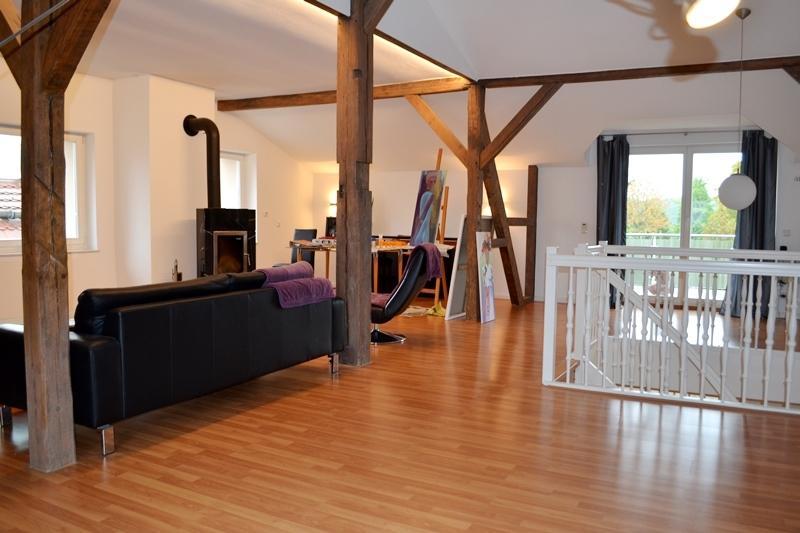 Riesiges Studio