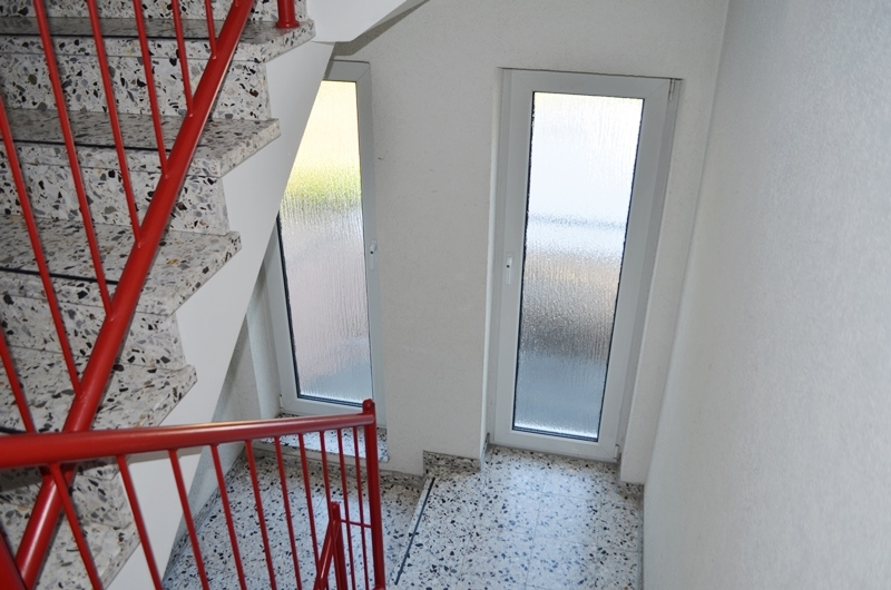 Helles Treppenhaus