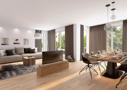 Wohnzimmer, Möblierung nur beispielhaft