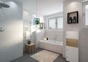 Badezimmer. Bild enthält Sonderwünsche