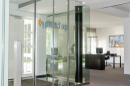 Freundlicher Eingangsbereich, EG Büro 3
