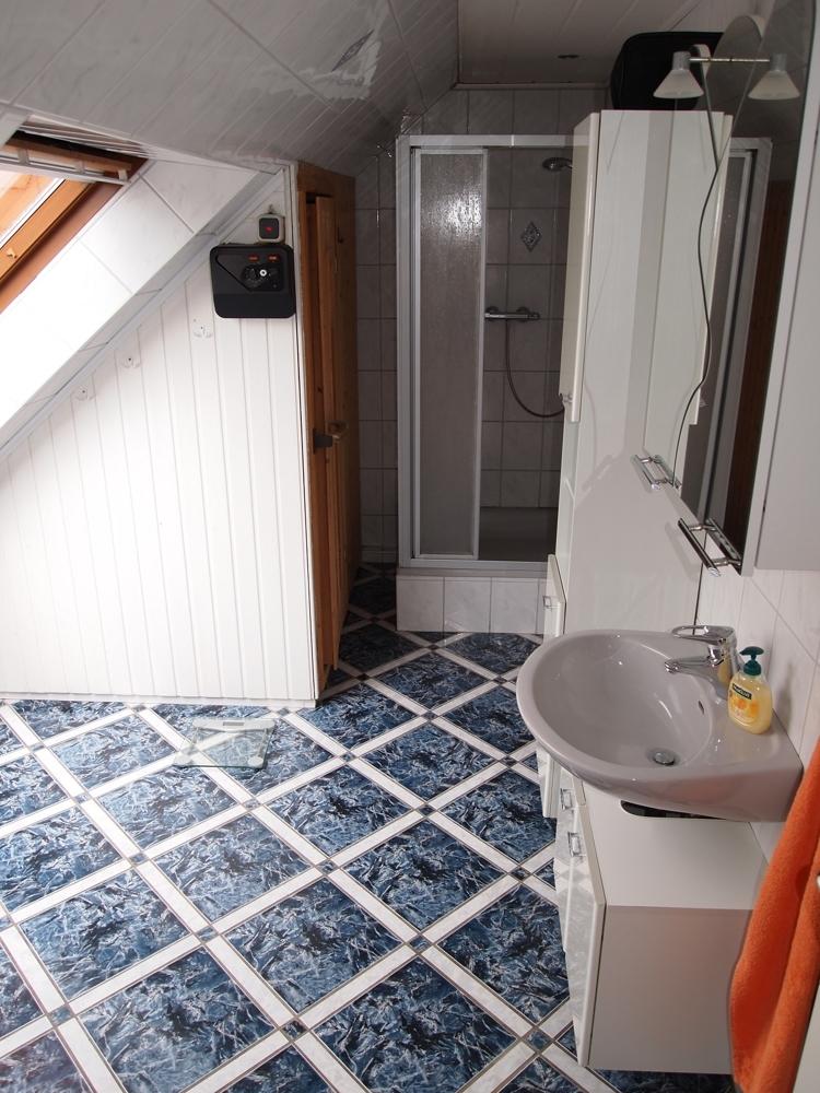 Duschbad/Sauna en Suite DG
