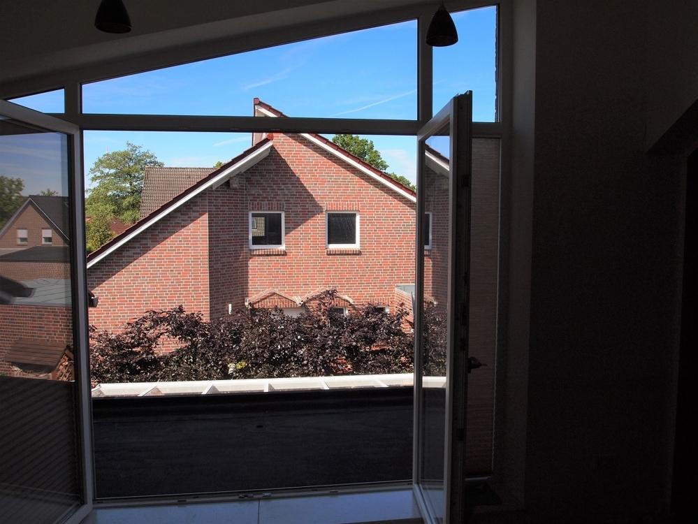 Wohnzimmer Blick auf Loggia