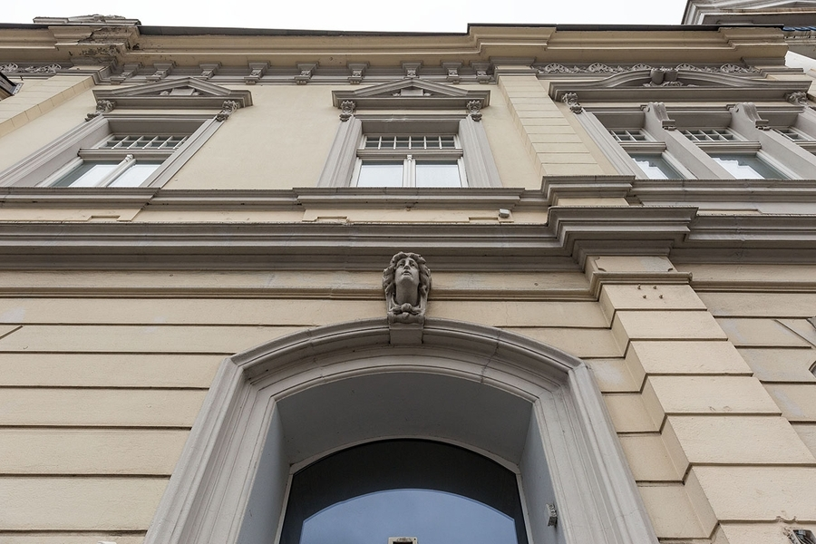 Detailansicht der Aussenfassade