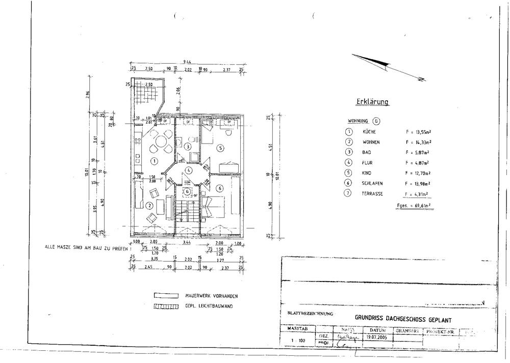 3003-Grundriss Dachgeschoß