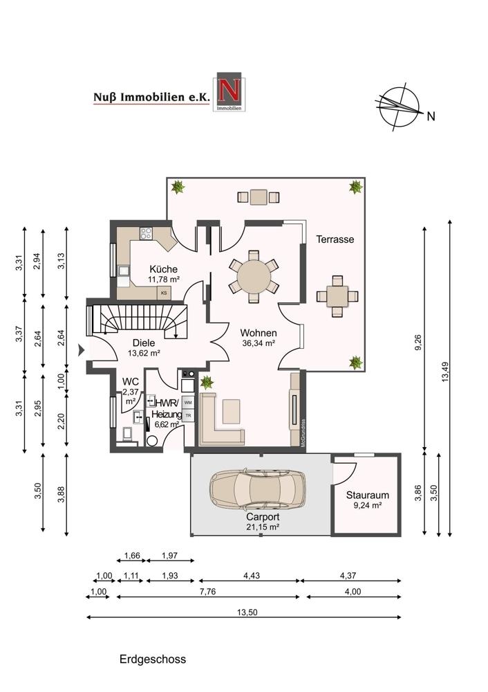3259-Grundriss Erdgeschoss