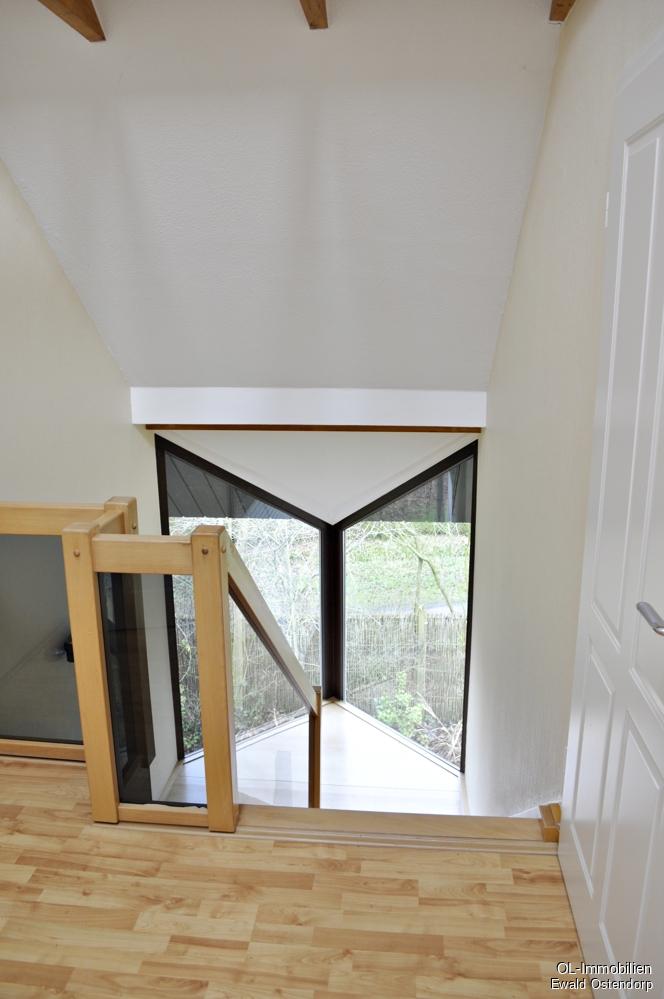 Blick auf die Treppe