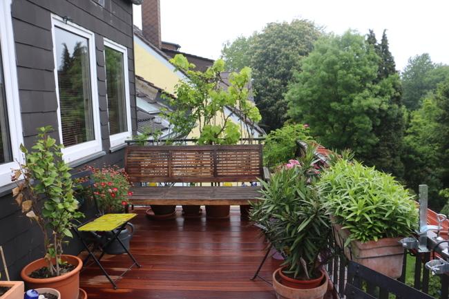 Balkon Bilck Norden