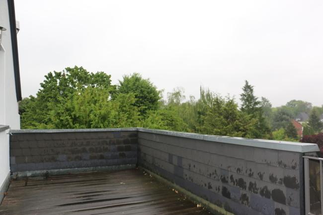 Terrasse Blick Norden
