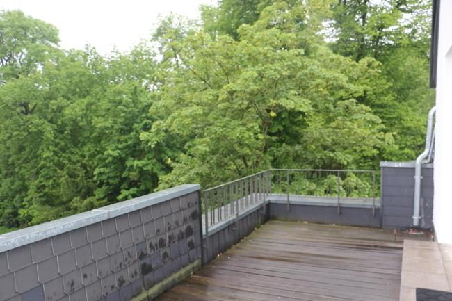 Terrasse Blick Süden