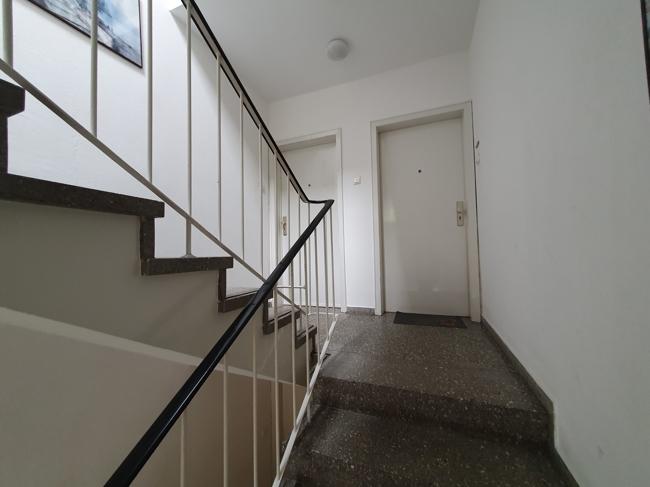 Treppenhausaufgang zur Wohnung