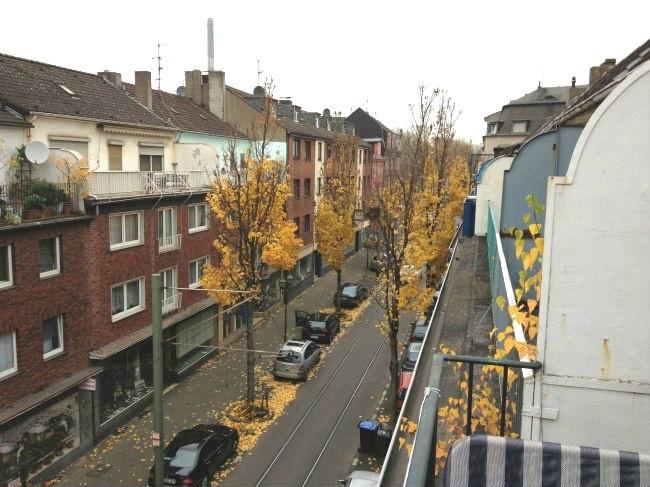 Balkon oberste Wohnung