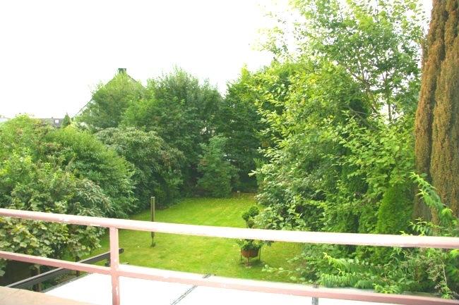 Blick vom Balkon im 1.OG