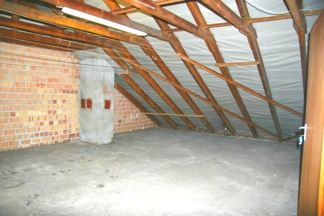 Ausbaufähige Dachfläche
