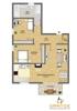 Grundriss W2 als Wohnung