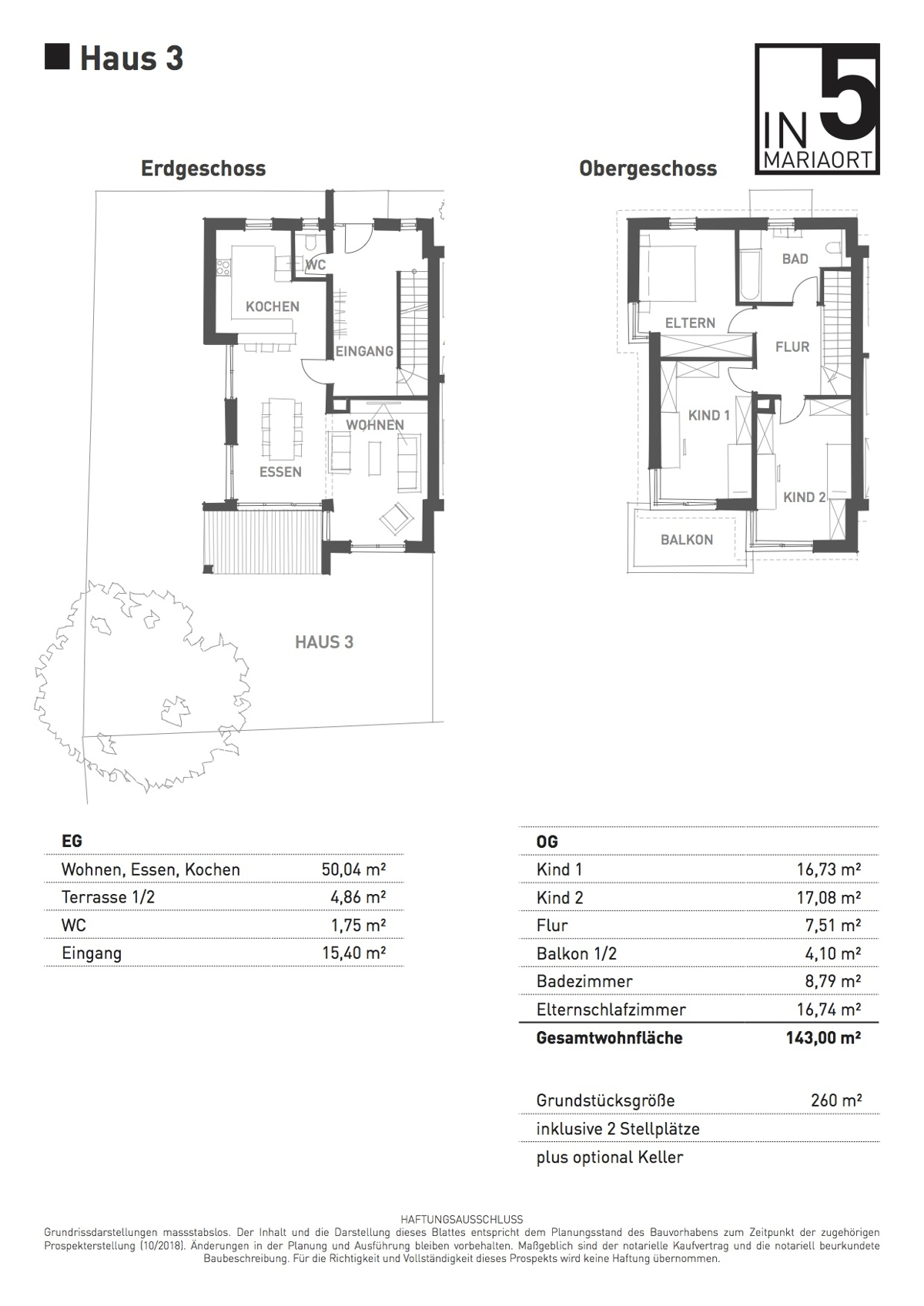 Grundriss Haus 3
