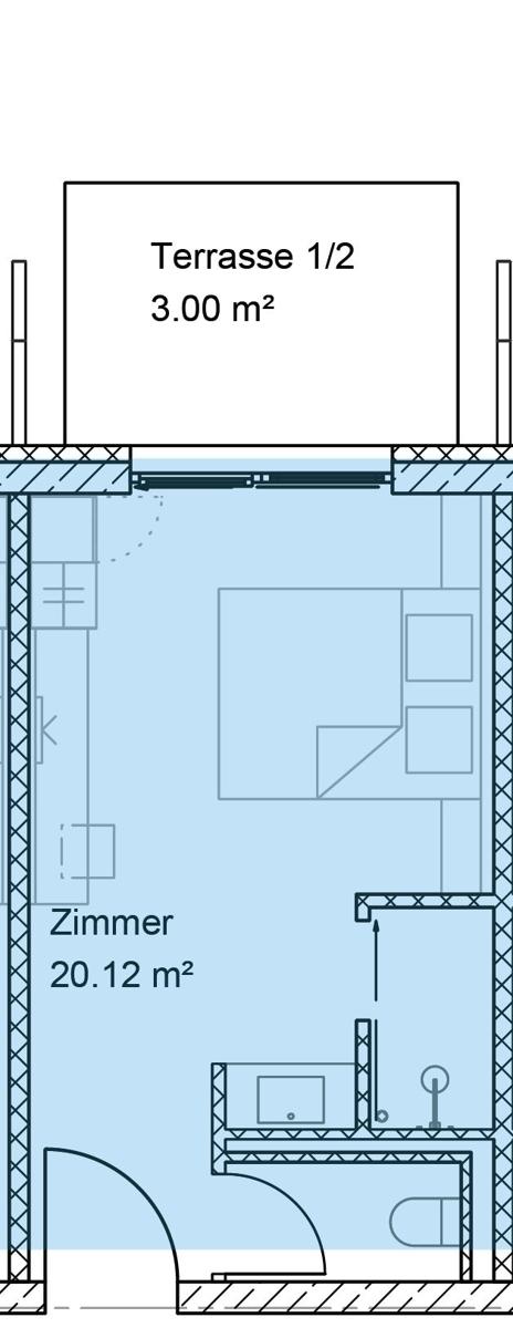 Grundriss Premium Zimmer Ergeschoss