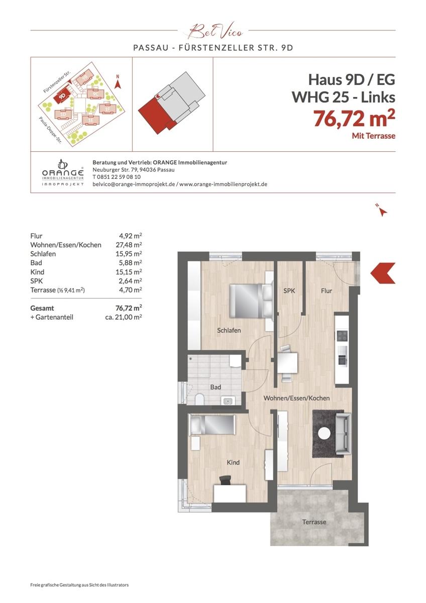 Grundriss Whg 25