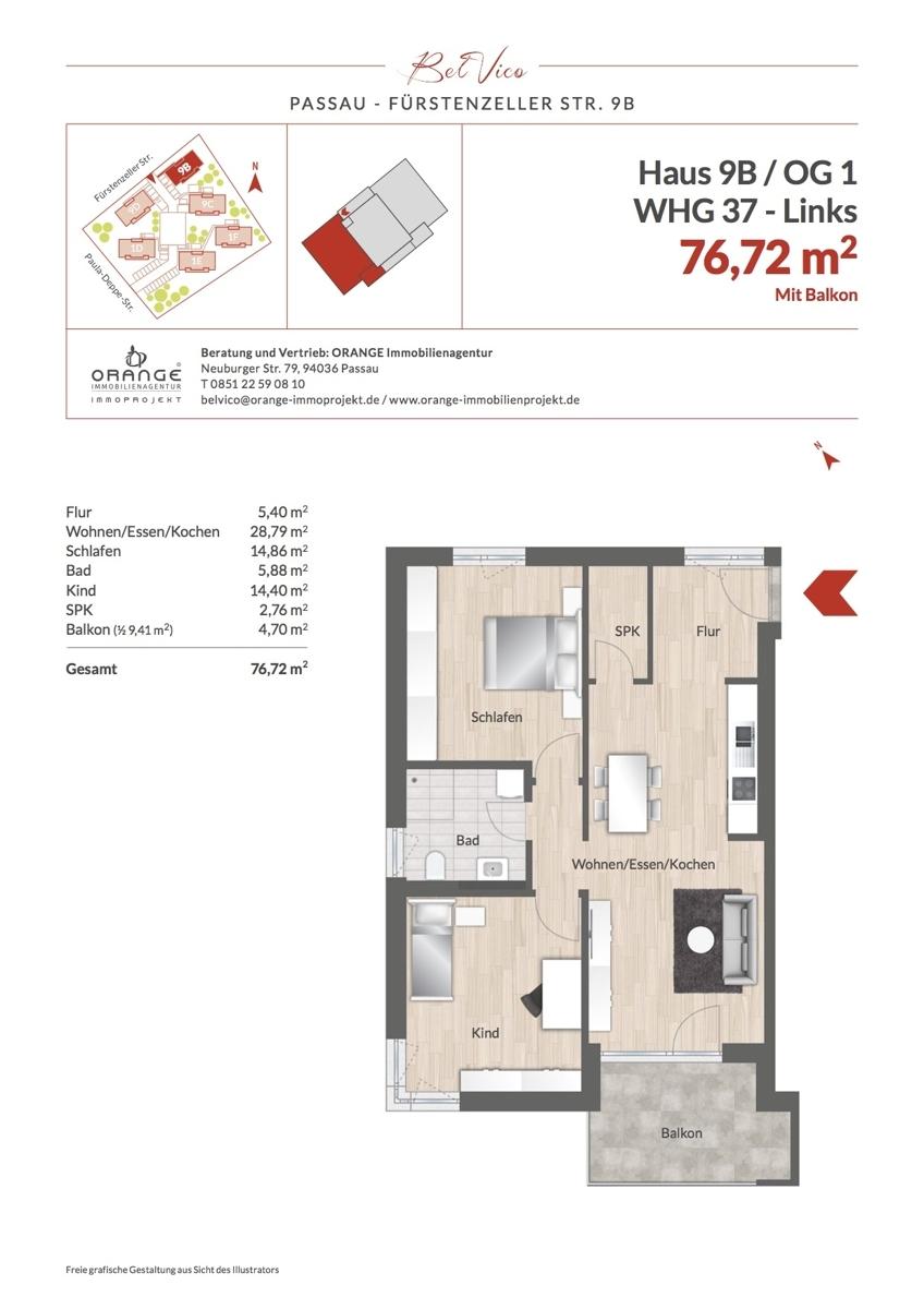 Grundriss Whg 37