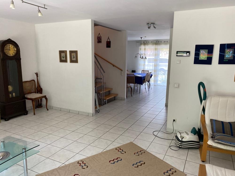 Blick vom Wohnzimmer in Richtung Essplatz