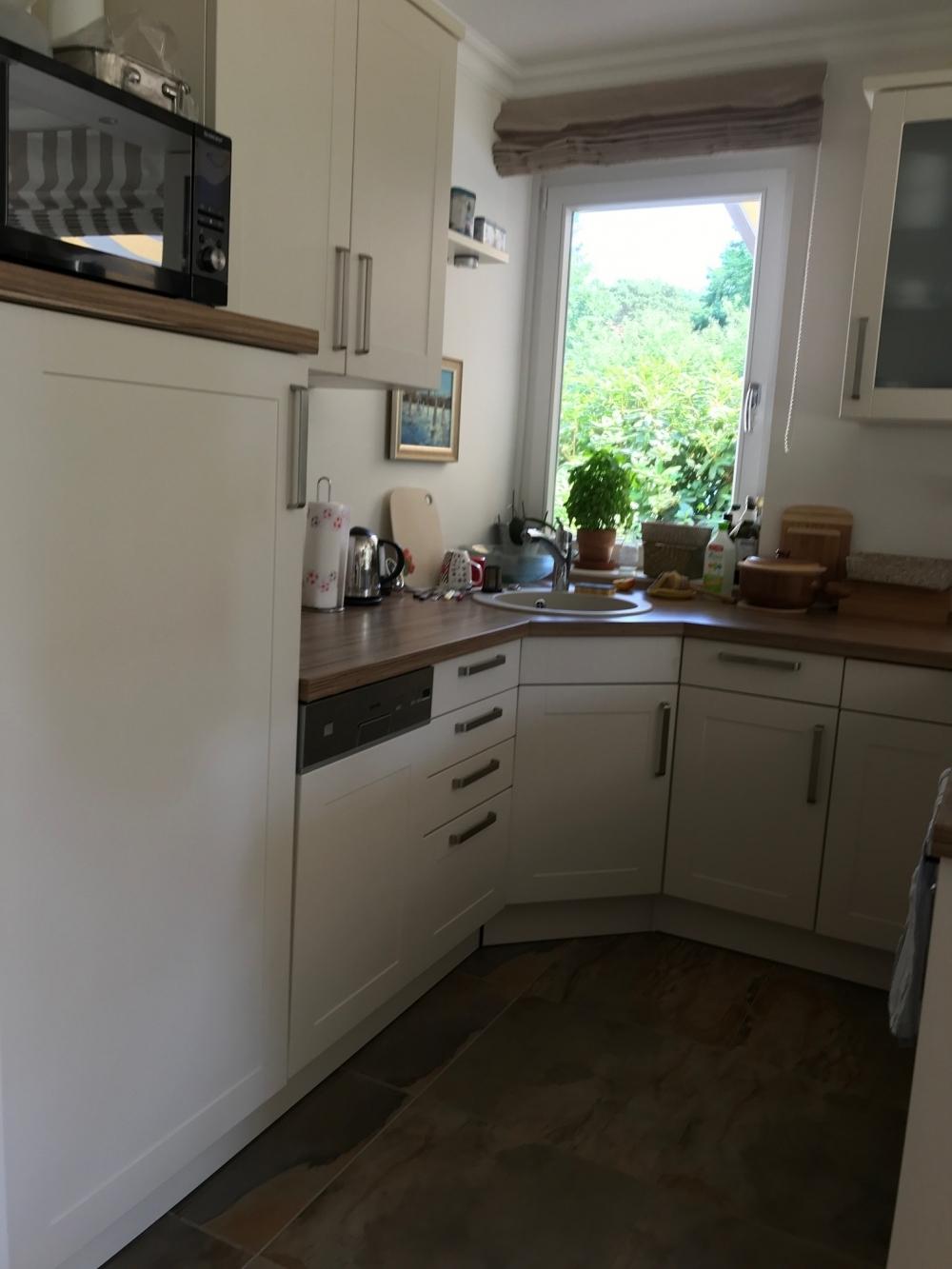 Blick offene Küche.