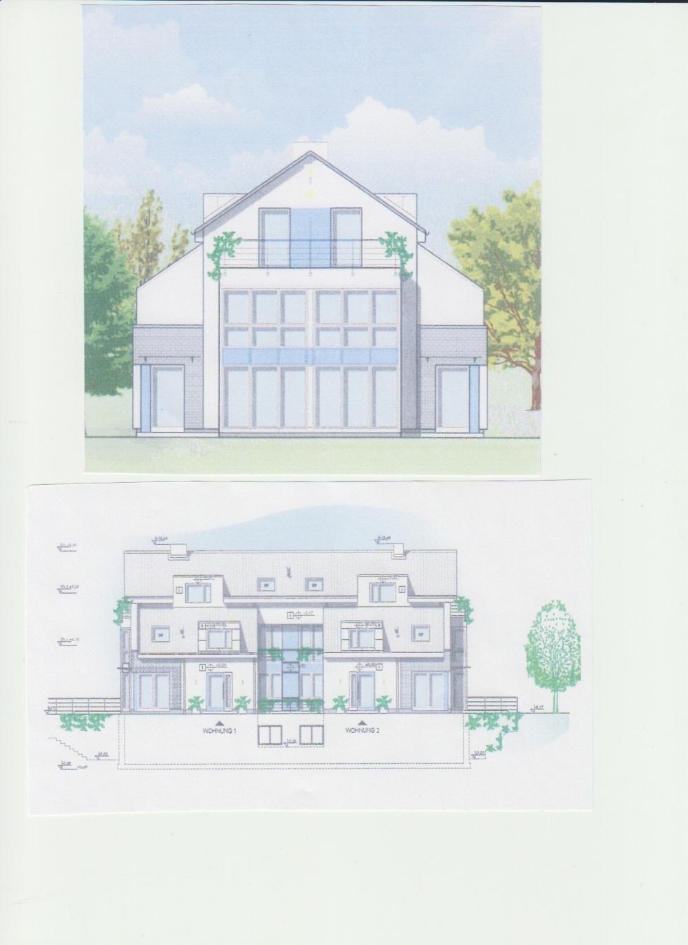 Visualisierung Gebäudeansicht