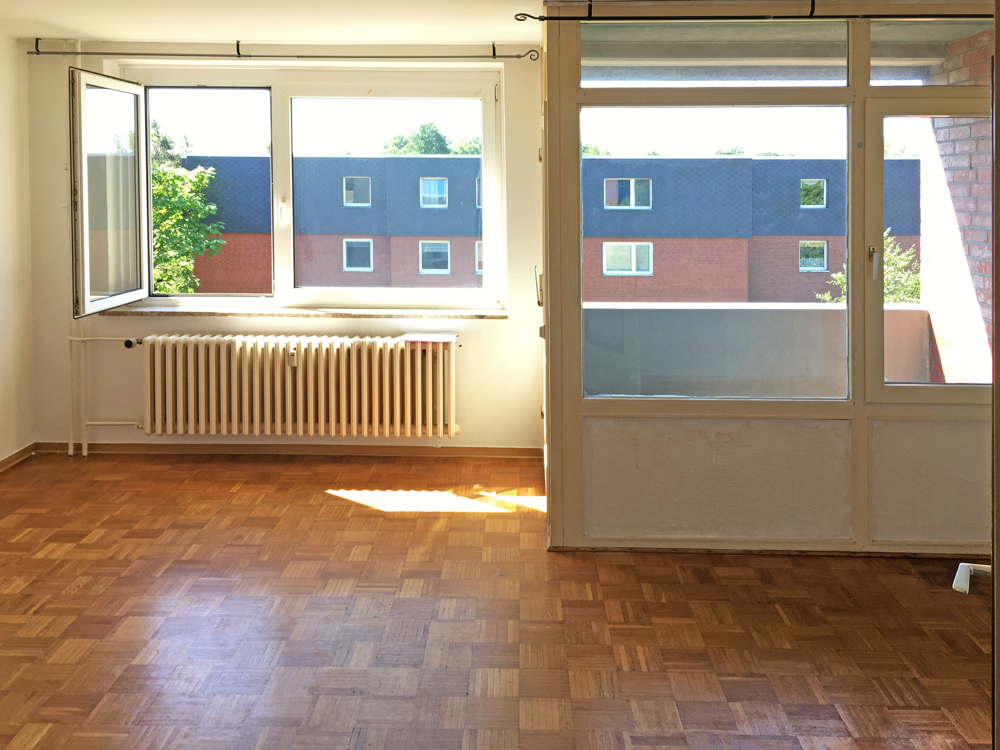 Beispiel Wohnraum WE  61