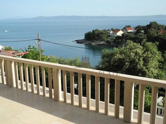 Blick Terrasse unten Bucht