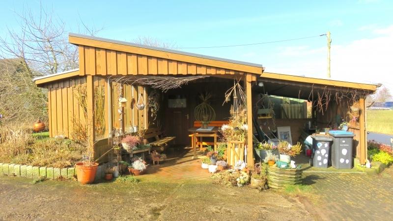 2. Carport, Gartenlaube, Werkstatt