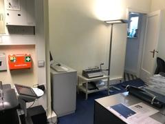 Büro und Technikraum