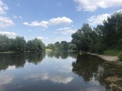 5 Gehminuten zur Weser