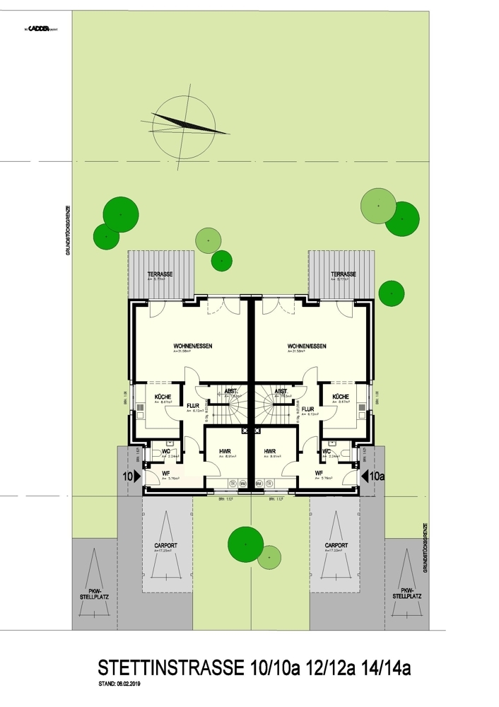 Erdgeschoss 10 - 14