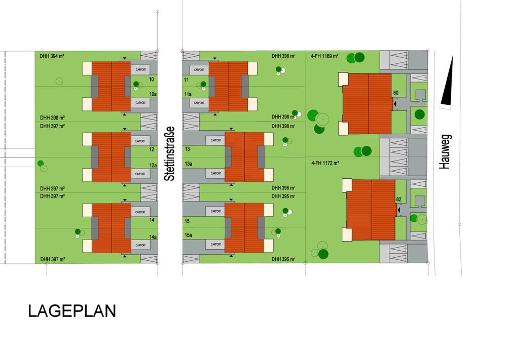 Gesamtlageplan Projekt 20, Bohmte