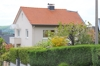 Das Haus, links andere Rheinseite