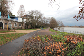 Rheinpromenade 250 m