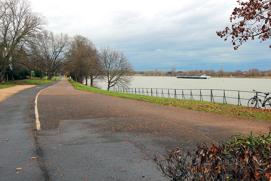 Rhein stromabwärts