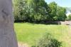 Blicl von oben in den Garten