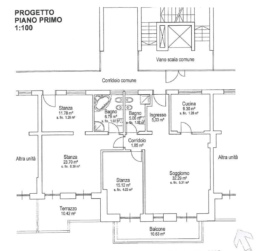 K1600_Planimetra Appartamento b
