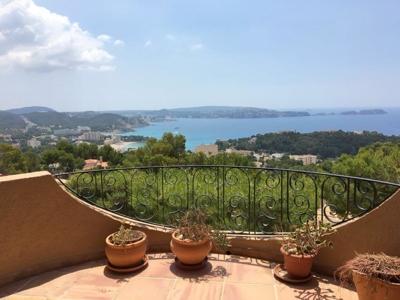 Wohnung it Meerblick in Paguera zu verkaufen