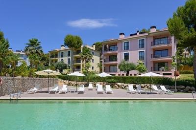 Garten-Wohnung in Cam de Mar zu verkaufen