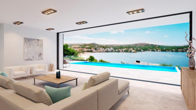 Modern villa in Santa Ponsa for sale